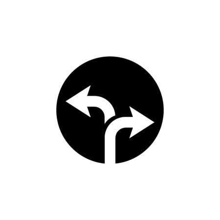 Way vector icon illustration design template Ilustração