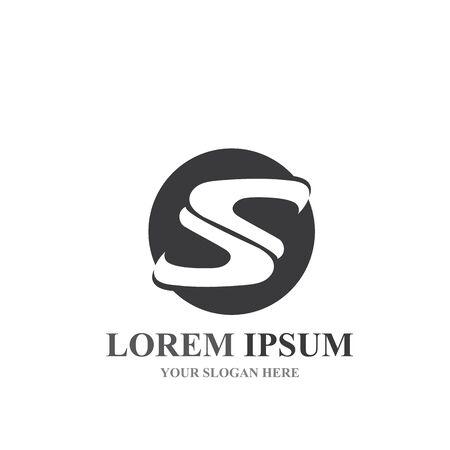 Business corporate S letter logo design vector Logos