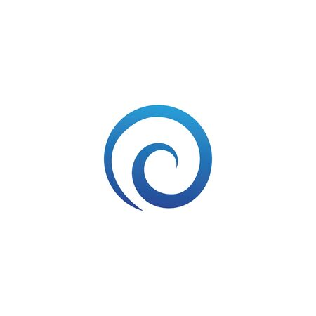 Water wave icon vector illustration design