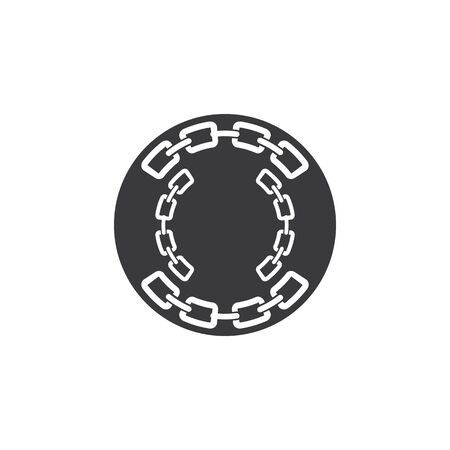 Chain Business corporate abstract unity vector logo design template