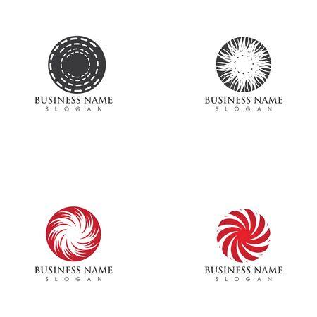 vortex vector illustration icon Logo Template design