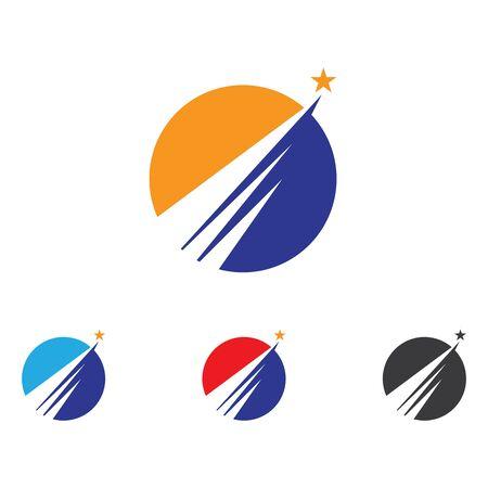 Progettazione più rapida dell'illustrazione dell'icona di vettore di Logo Template