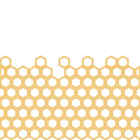 honeycomb background. honeycomb pattern. Hexagon abstract background vector design