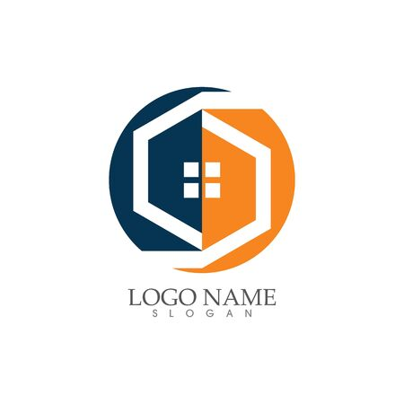 Home and house  , Property and Construction Logo design Stock fotó - 140197076