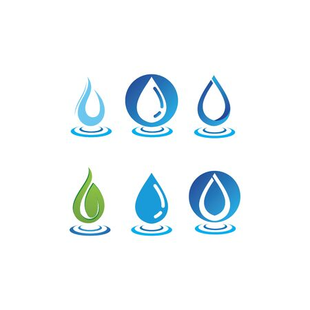 water drop  Template vector illustration
