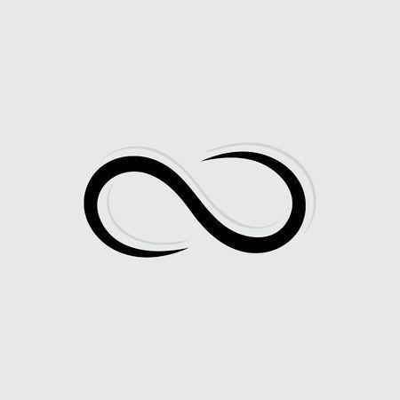 Infinity Design Vector icon illustration Logo template design Logos