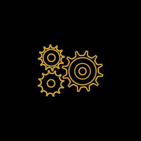 Gear Logo Template vector icon illustration design Reklamní fotografie - 150546793