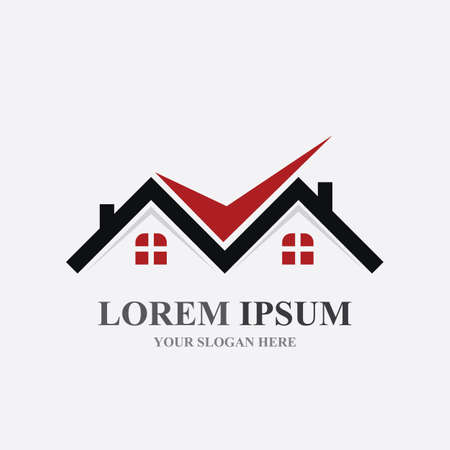 Home logo , Property and Construction Logo design