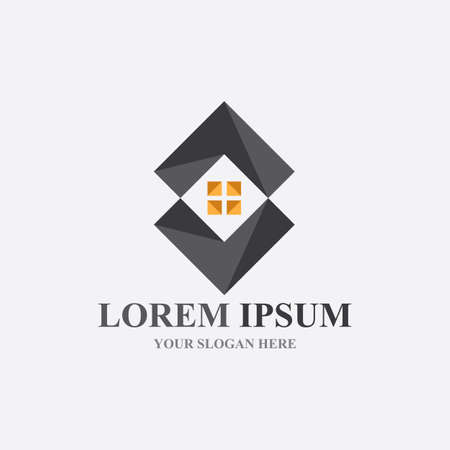 Home logo , Property and Construction Logo design