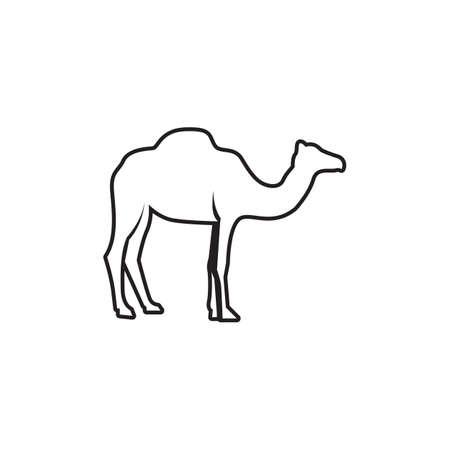 Camel Icon Vector illustration design