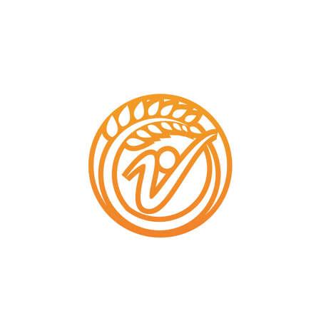 Healthy Life Logo template vector image Logo