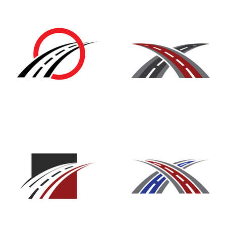 road logo and symbol template
