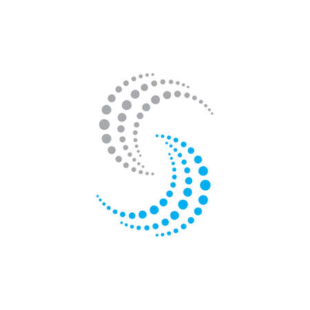 vortex vector illustration icon Logo Template design