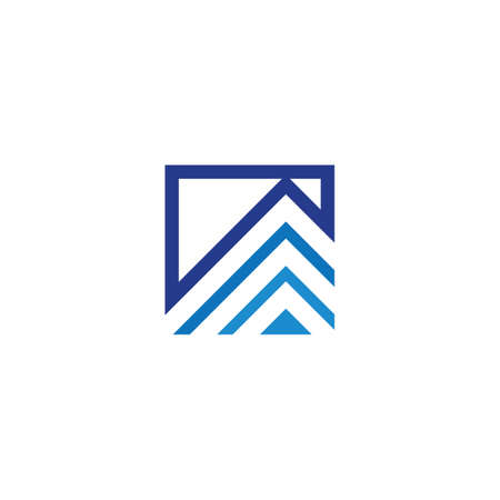 architecture logo design vector template, icon, symbol, house
