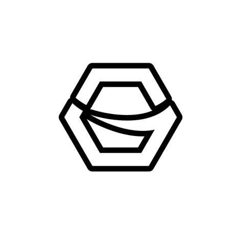 G Letter vector illustration icon Logo Template design Logo
