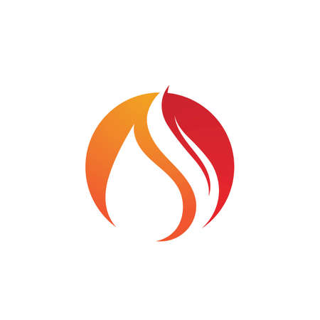 Fire  vector illustration design template