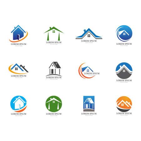Real Estate, Property and Construction Logo design Logo