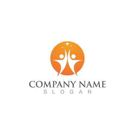 Health poeple logo  sign vector image
