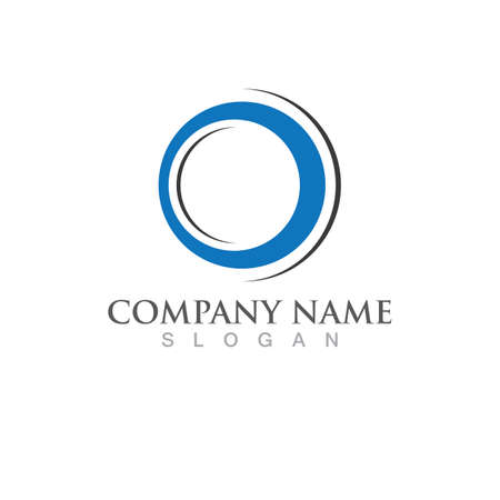 Circle logo and symbol icon vector