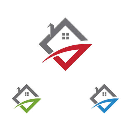 Property home initial G letter logo Logó