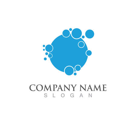 Cleaning logo and symbol illustration vector template Logó
