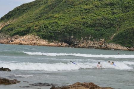 Sai Wan Beach New Territory Hongkong Stock Photo