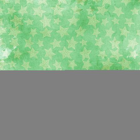 estrellas cinco puntas: verdes fivepointed estrellas sobre un fondo verde
