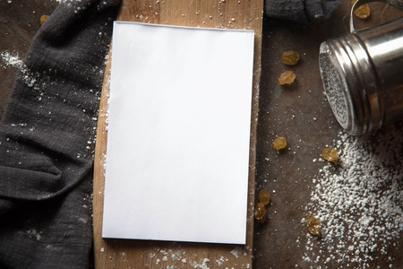 paper notebook in the kitchen accessories