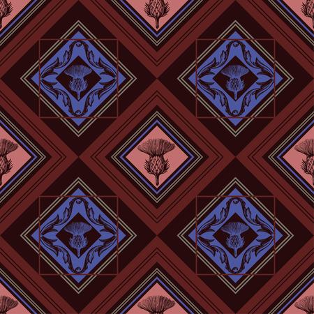 Tartan,plaid pattern vector background.New folk.Tartan pattern.