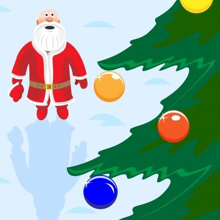 Russian Santa Claus  Vector