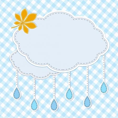 rainy season: Autumn frame