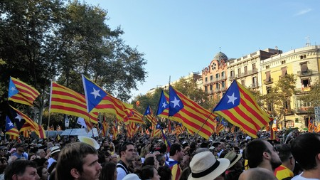 Barcelona, ??September 11th 2017: March for independence