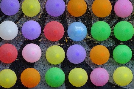 Colorful ballons as a background