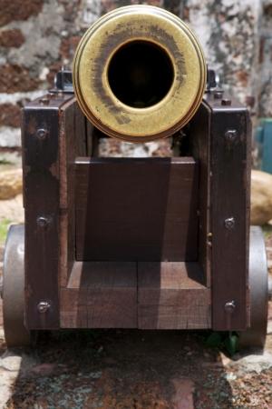 melacca: Old Cannon, Gun Tube, Melacca, Singapore