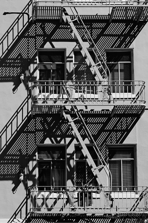 Elements of urban architecture in San Francisco photo