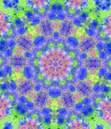 Kaleidoscope Background Stock Photo