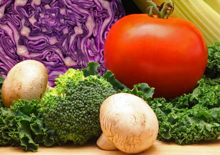 Vegetables, Shallow Depth of Field