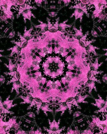 Retro Style Textured Background inBlack and Pink
