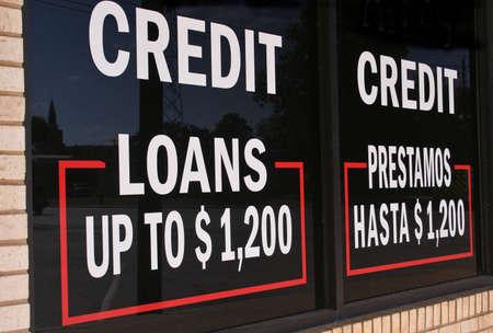 Loans Sign