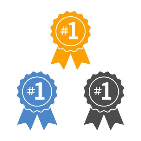 nombres: Nombre 1 lauréat du ruban insigne