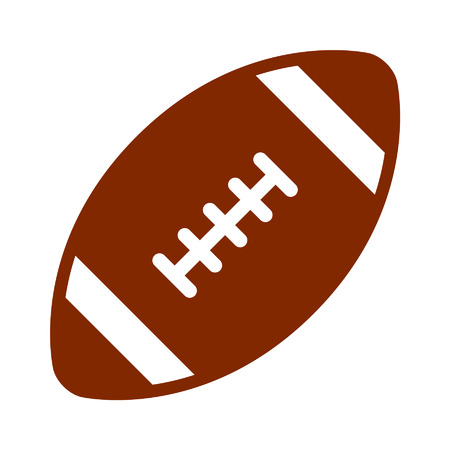 gridiron: American gridiron football flat icon for sports apps and websites