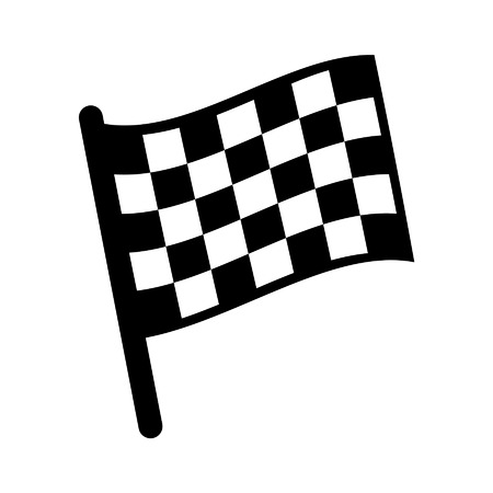 checkered chequered flag icon for sports websites