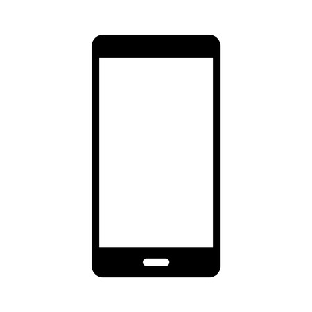 smart phone flat icon for websites