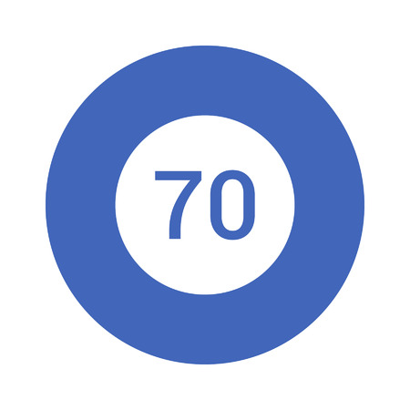 smart thermostat temperature control flat icon royalty free cliparts
