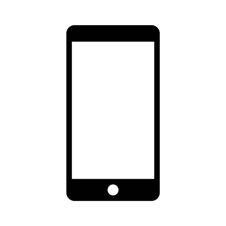 mobile phone smartphone flat icon for websites