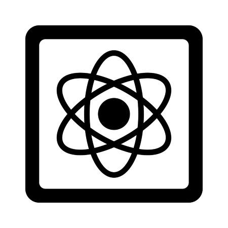 앱과 웹 사이트에 대한 양자 컴퓨터 칩 플랫 아이콘 일러스트