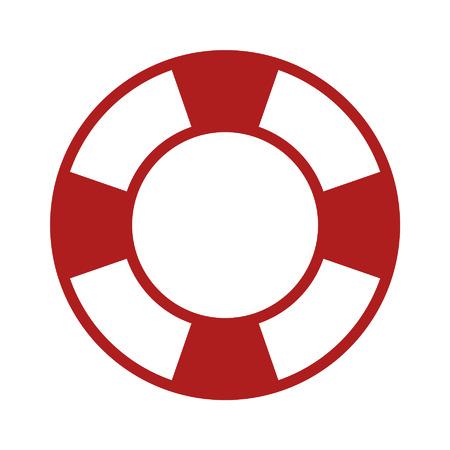 アプリの救命ヘルプ アイコン  イラスト・ベクター素材