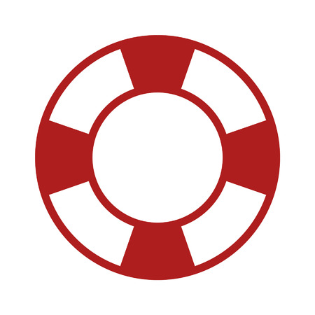 Life preserver help icon for apps