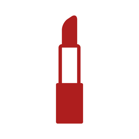 Lipstick cosmetic flat icon for apps and websites