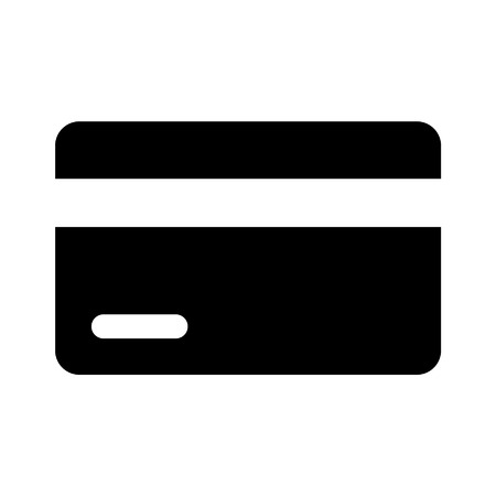 valid: Credit  debit card flat icon for apps and websites